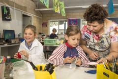 Art classes at Cottesloe Primary School